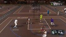 NBA 2K17 Michael Jordan Dunks through his chest