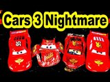 Pixar Cars3 Lightning McQueen Nightmare Crash Solved by Mater and Finn McMissile from Cars2