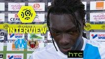 Interview de fin de match : Olympique de Marseille - OGC Nice (2-1)  - Résumé - (OM-OGCN) / 2016-17