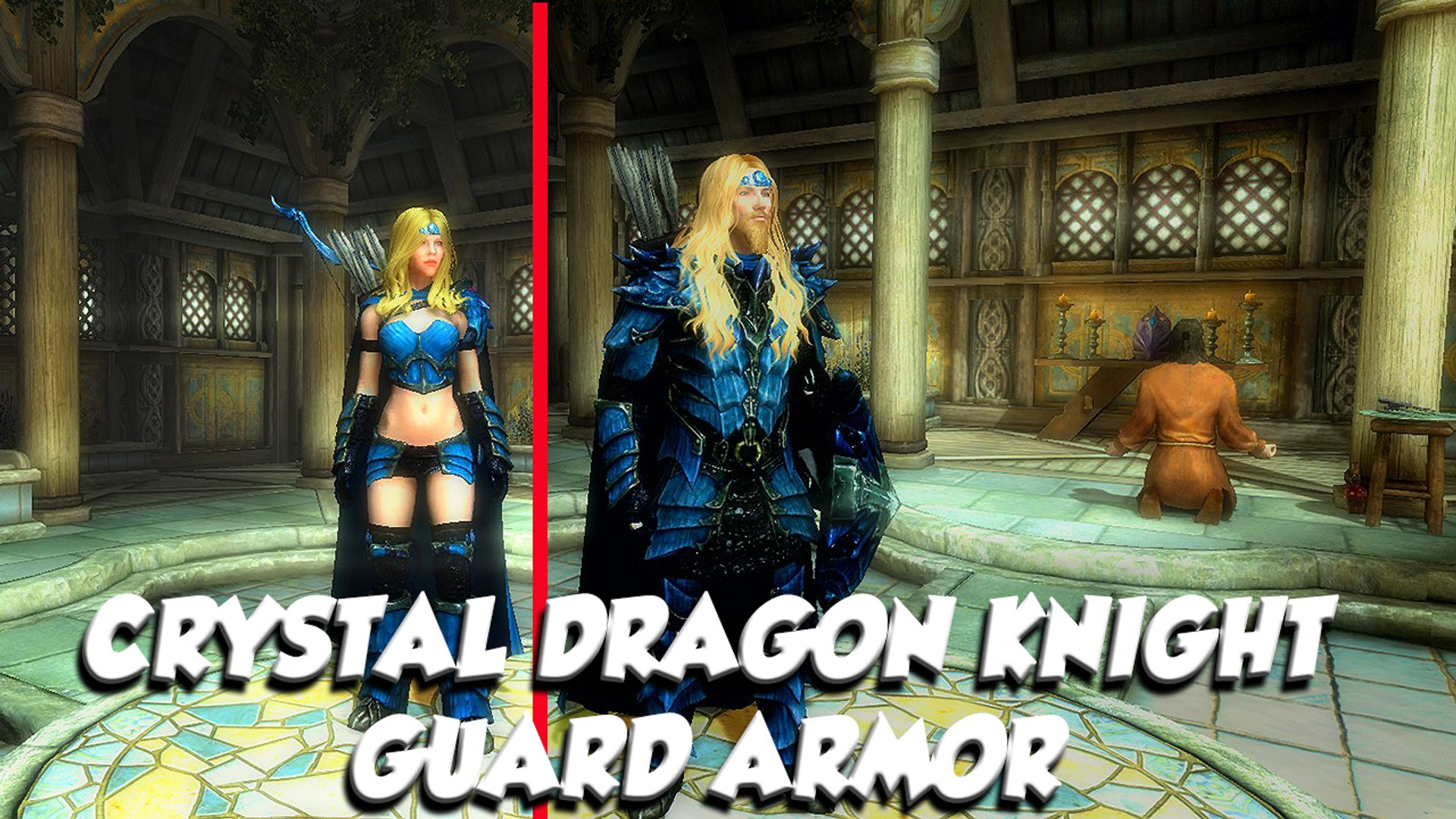 Skyrim Special Edition Mod Spotlight Crystal Dragon Knight Guard Armor Video Dailymotion I'm trying to find the mod for this helmet based on the imperial knight armor since it goes with the dragon knight armor set from immersive armors so nicely. skyrim special edition mod spotlight