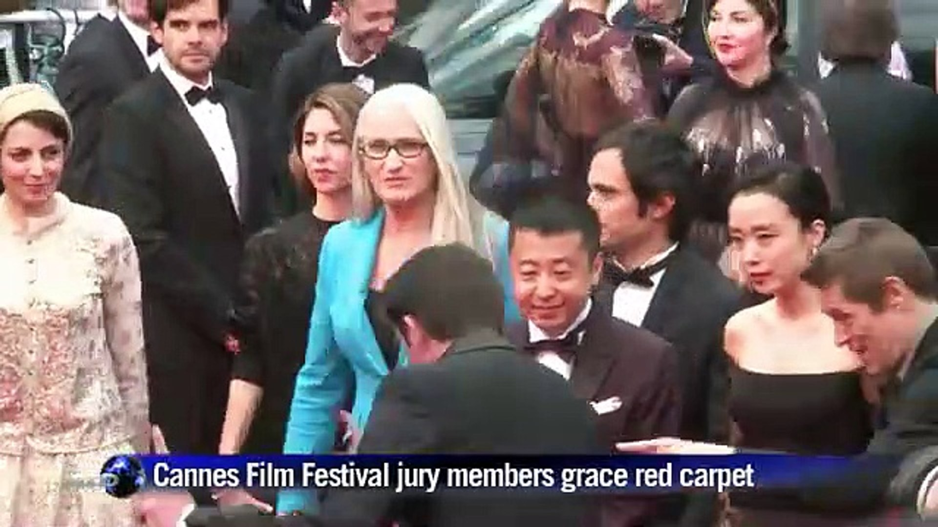 Cannes Film Festival jury members e red carpet