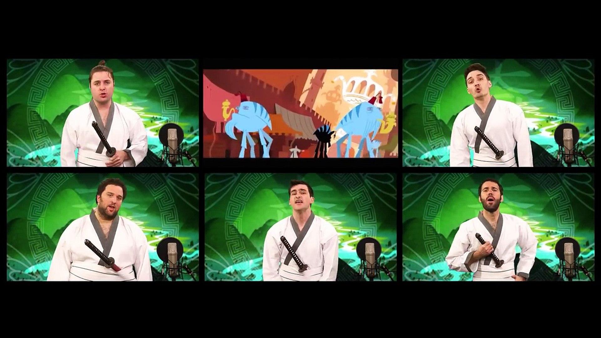 SAMURAI JACK THEME SONG ACAPELLA-2017