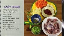 Evde Pratik Kağıt Kebabı Tarifi - Fırında Kağıtta Sebzeli Kebap - Evde Kolay Kebap Nasıl Yapılır
