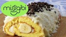 Rulo Pasta Tarifi - Muzlu Rulo Pasta Nasıl Yapılır - Kolay Muzlu Yaş Pasta Tarifi - Muzlu Pasta