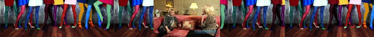 Absolutely Fabulous Jennifer Saunders & Joanna Lumley Look Back At AbFab