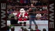 'Stone Cold' drops Santa Claus with a  - Raw, Dec. 22, 1997