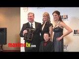 """TRICIA HELFER & ATTICUS SHAFFER """"Genesis Awards"""" 2011 Press Room"""