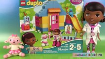 Docteur la peluche Lego Duplo Clinique Doc McStuffins Lego Backyard Clinic Jeu de construction
