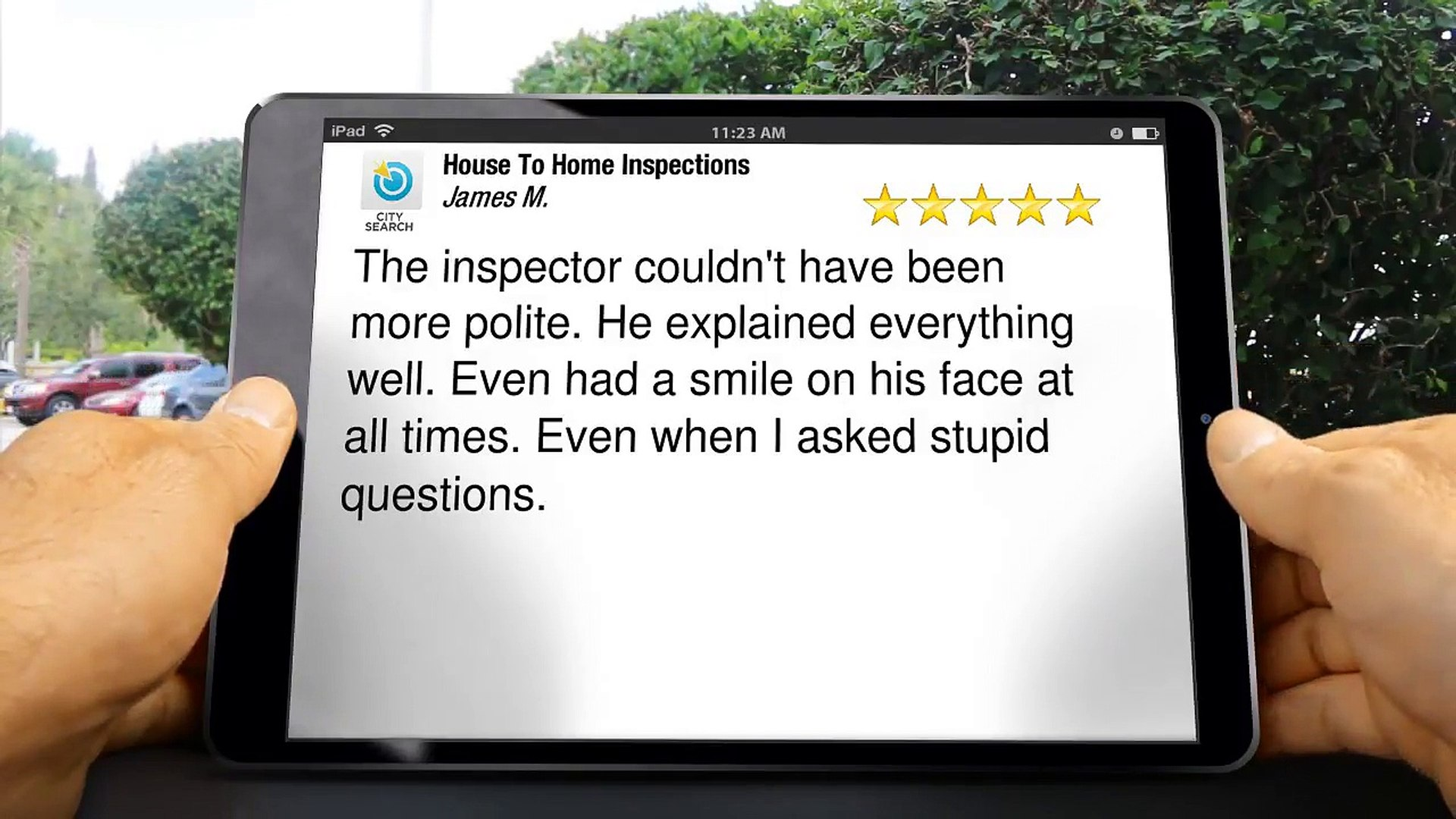 House To Home Inspections Pewaukee Excellent Five Star Review by James M