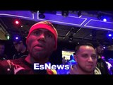 Walters seconds after weigh in with lomachenko - EsNews Boxing