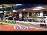 alex ariza thomas dulorme at mayweather boxing club EsNews Boxing