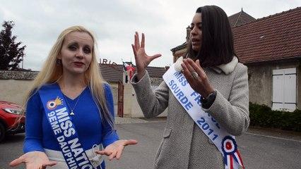 Kelly Morellon et Miss France Sourde