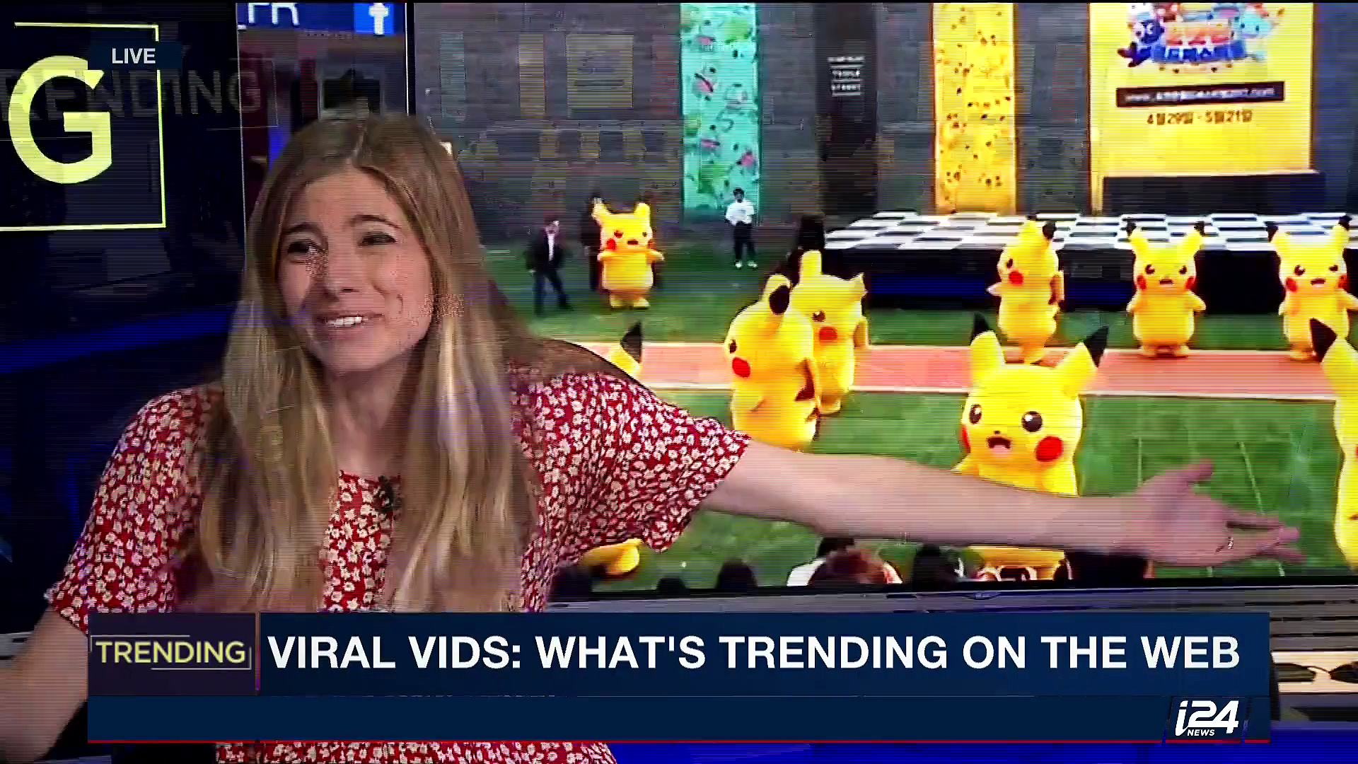 TRENDING | Viral vids: what's trending on the web | Monday, May 8th  2017
