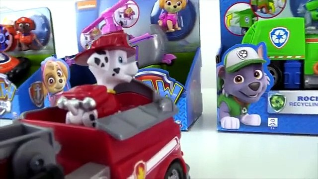 Paw Patrol Games - Skye Puppy HELICOPTER Toys Unboxing Demo! (Bbu