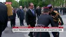 Commémoration du 8 mai : Deux présidents côte à côte