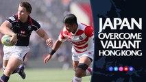 Japan battle past Hong Kong | Asia Rugby Championship