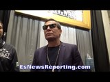 JULIO CESAR CHAVEZ: AT 140LBS I WOULD HAVE BEAT MAYWEATHER; CANELO VS CHAVEZ JR POSSIBLE