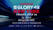 GLORY 43 New York: Tickets on Sale!