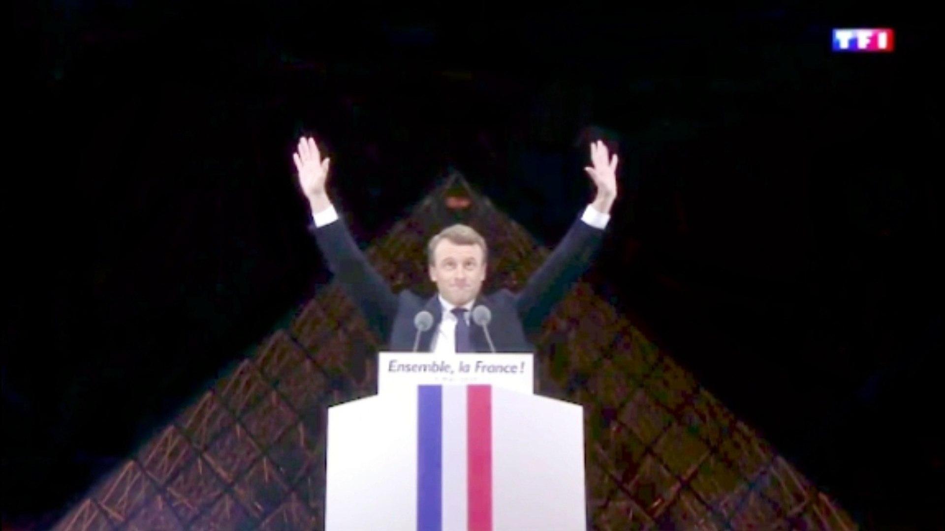 Macron 666 Illuminati