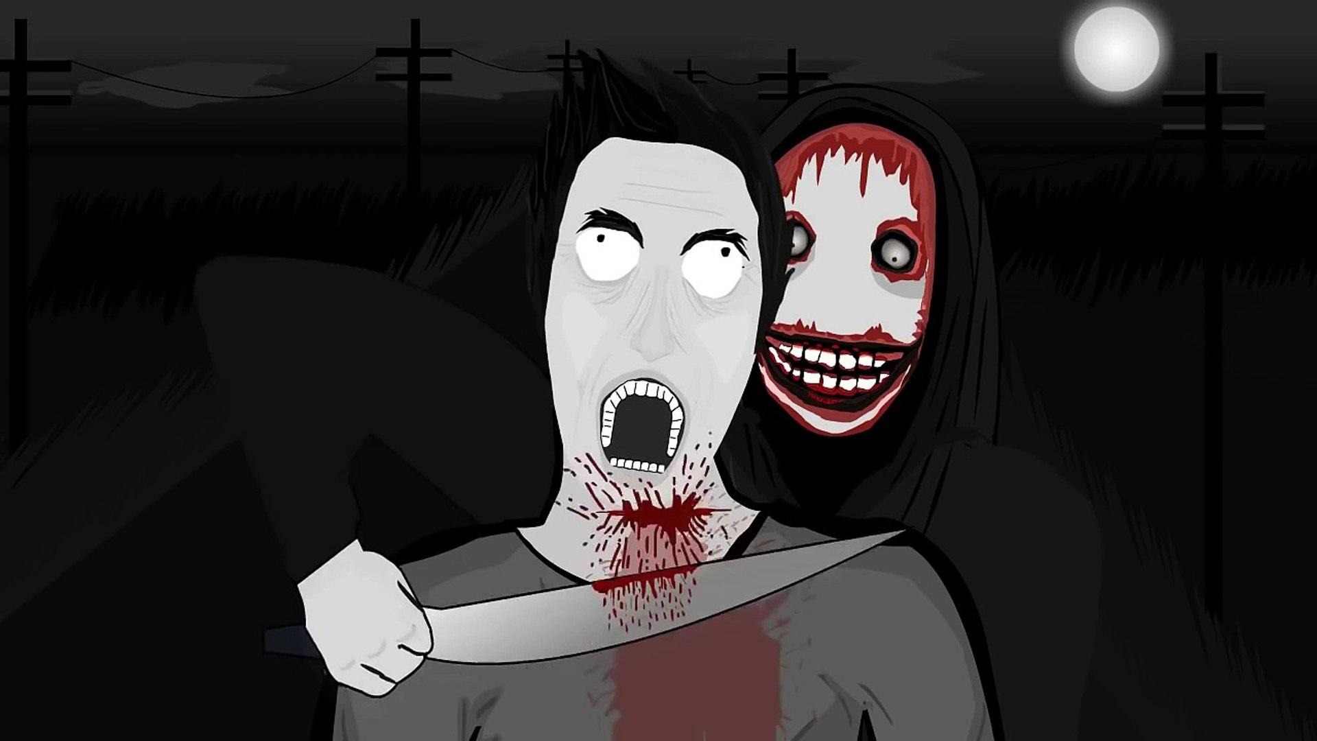Slender Man Vs Jeff The Killer Animacion Hd Cc Video Dailymotion