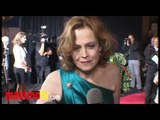 """Sigourney Weaver Interview at """"You Again"""" Premiere"""