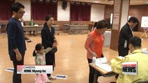 Koreans heading to polling stations to elect president