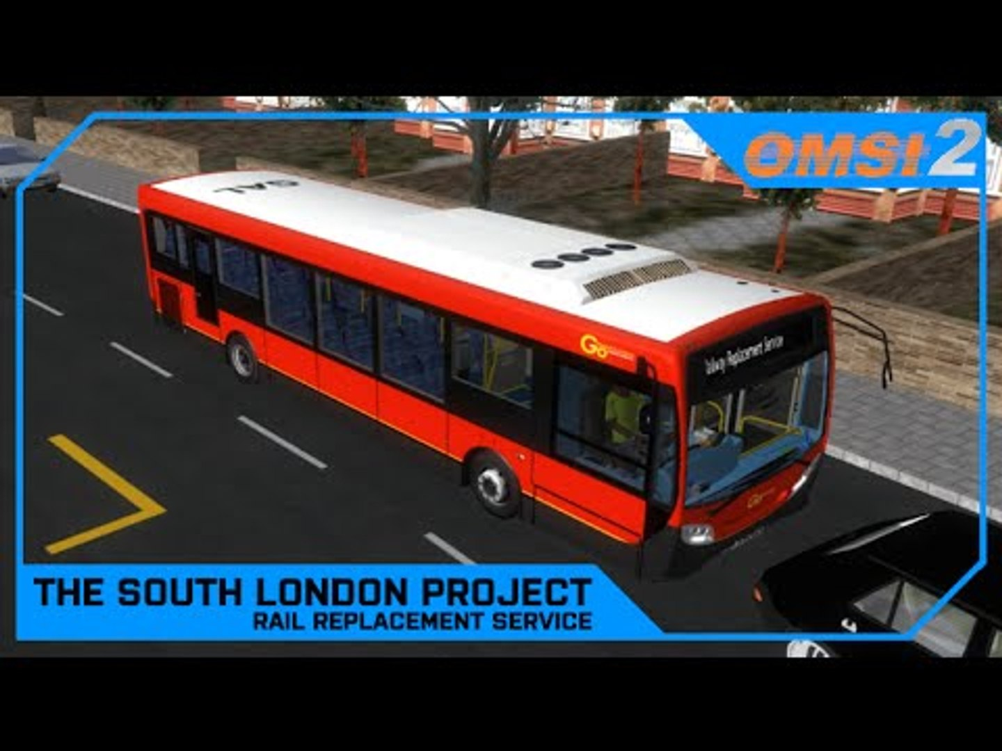 Drawyah plays OMSI 2 - The South London Project Rail Replacement  Service|Episode 18