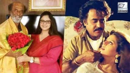 Rajinikanth Reunited With Baasha Heroine Nagma