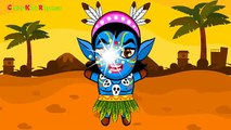 Blue Man Fing ily _ Finger Family Nursery Rhymes for Children Rhymes for