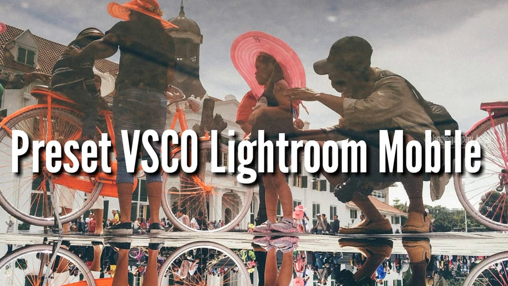 How to Make a VSCO Preset In Lightroom Mobile - Tutorial Lightroom