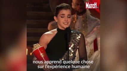 Emma Watson reçoit le premier prix non-genré de l'Histoire