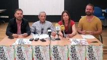 Rueda de prensa de ULEG, Leganemos y colectivos ciudadanos de Leganés