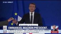 Le premier gros moment de solitude de Macron en tant que Président