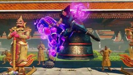 Street Fighter V - Ed Gameplay Trailer New Character  de Street Fighter V