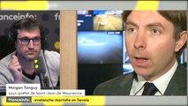 Avalanche mortelle en Savoie: les précisions de Morgan Tanguy, sous-préfet à Saint-Jean de Maurienne