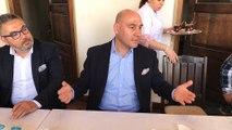 Restorasyonnun ardından Akhisar Dombaycıhanı kapıları açılıyor, Ticaret Borsası Başkanı Alper Alhat