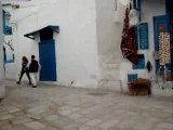 place dans Sidi Bou Saïd, Tunisie