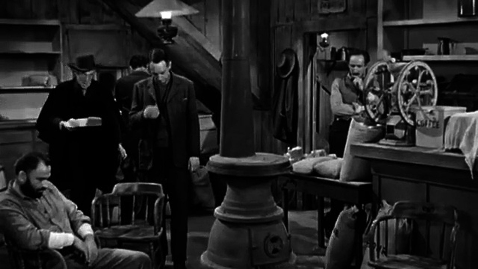 Day of the Outlaw (1959) Western (André De Toth / Robert Ryan, Burl Ives, Tina Louise) part 2/2