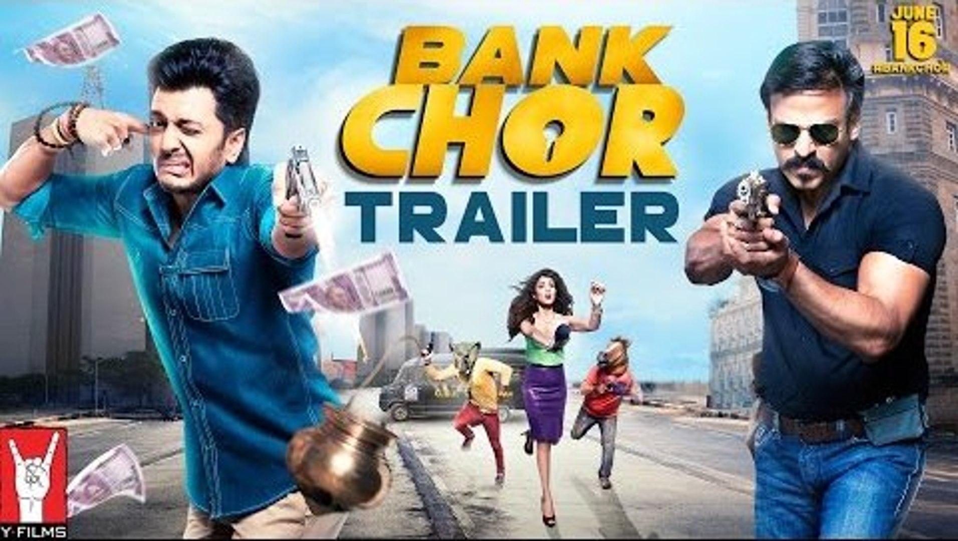 Bank Chor Official Movie Trailer HD 2017 - Riteish Deshmukh - Vivek Anand Oberoi - Rhea Chakraborty