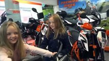 KTM Superduke Shopping trip with t irl