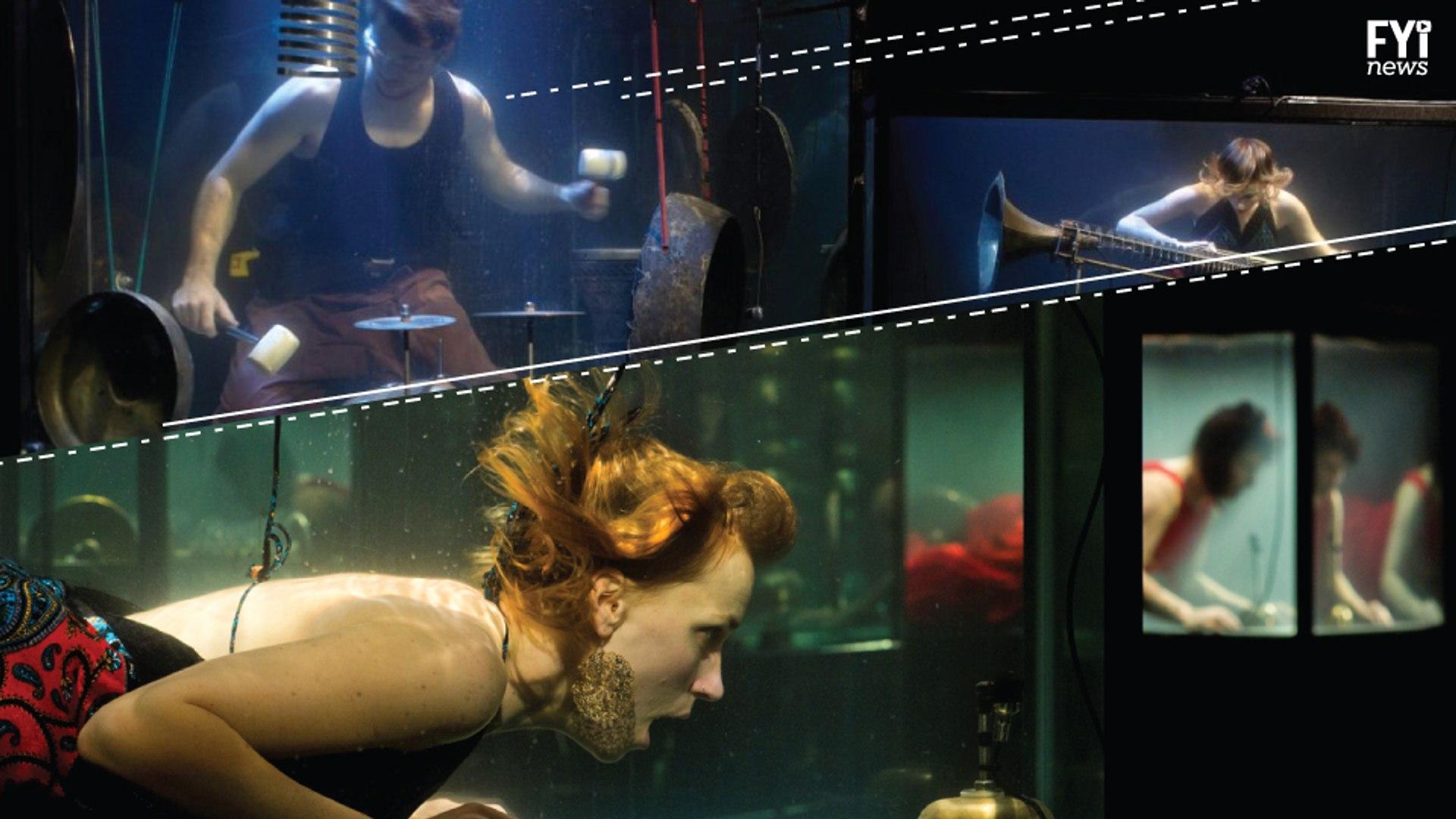 Between Music Plays Underwater Music