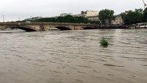 Crue de la Seine 3ème jour (Seine in spate 3rd day) - Pont des Invalides - 02/06/2016