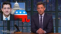 Seth Meyers Takes a 'Closer Look' at Health-Care Email from Paul Ryan | THR News