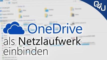OneDrive als Windows Netzlaufwerk einbinden | QSO4YOU Tech