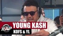 Young Kash, Kofs & YL en live #PlanèteRap