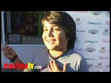 """Parker Contreras Interview at """"Children Of The Night"""" Charity Event August 31, 2010"""