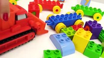 BOB the Builder Can't Count! TOY TRAINS Number Game with LEGO Construction