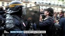 Le Petit Journal : un journaliste se fait frapper par les forces de l'ordre