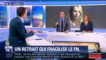 """Florian Philippot nie les """"raisons politiques"""" du retrait de Marion Maréchal-Le Pen"""