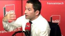 """Benoît Hamon sur Manuel Valls : """"Les """"aurores incertaines"""" dont parlait Jaurès sont beaucoup plus prometteuses que l'opportunisme compulsif de certains."""""""